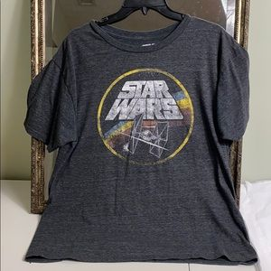 Star Wars millennial falcon graphic Tee size L